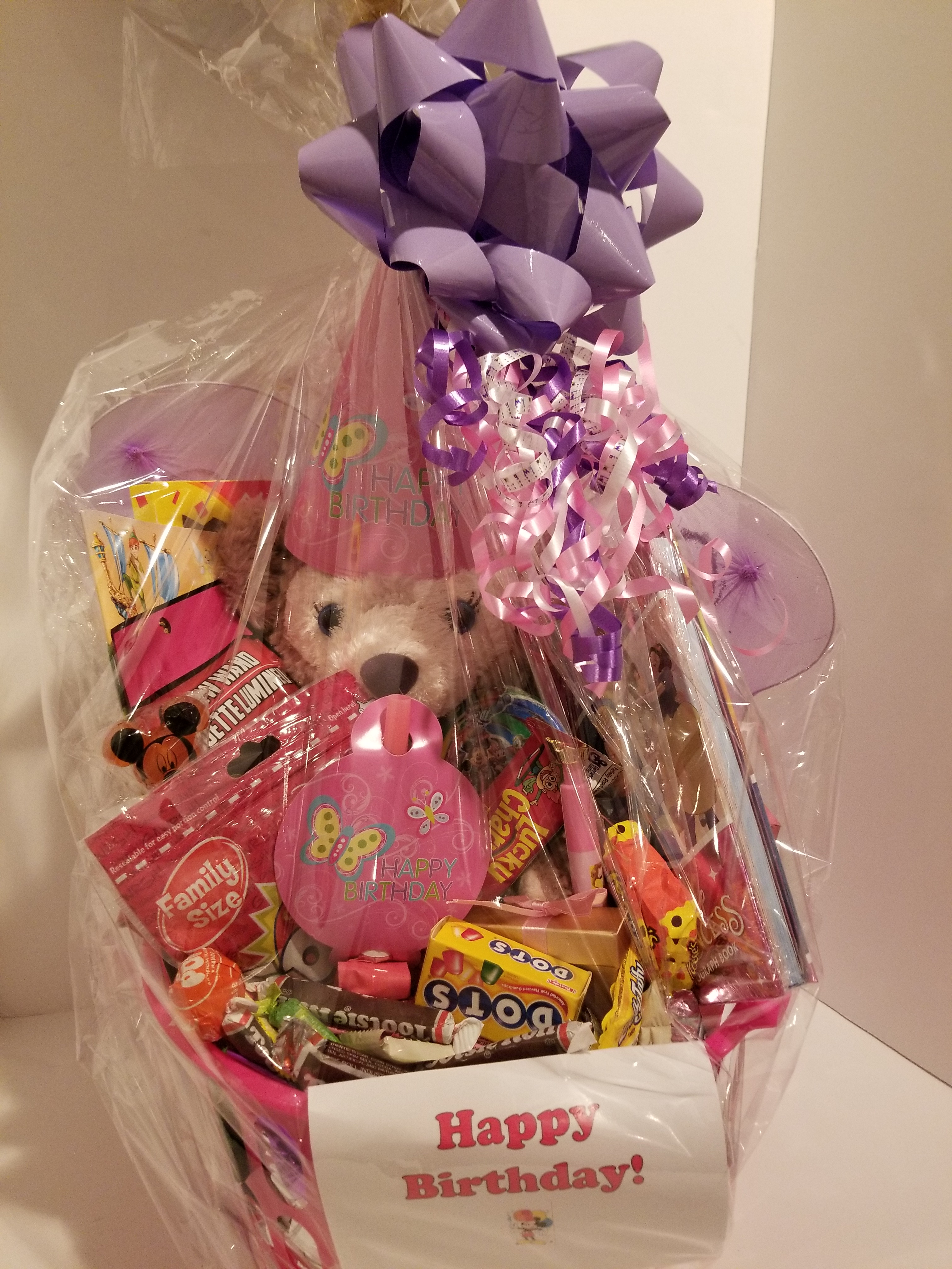 Another fun gift basket delivered last week!